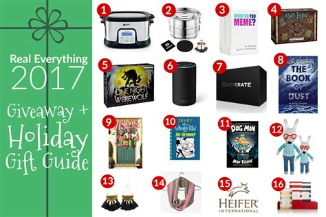Small Giveaway Ideas - holiday gift ideas giveaway real everything