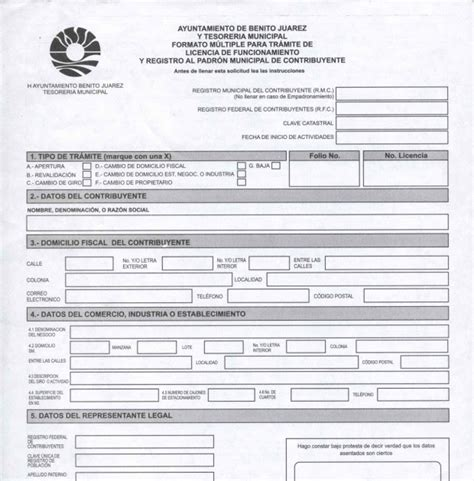 formato universal tesoreria tenencia 2014 formato universal tesoreria ciudad de mexico dof diario