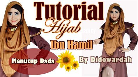 tutorial hijab menutup dada tutorial hijab pashmina ibu hamil menutup dada by