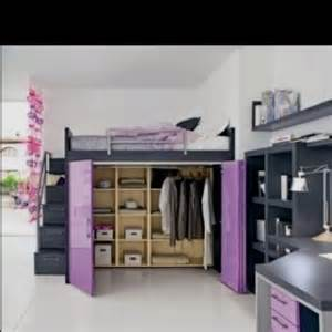 Loft Bed With Closet Underneath Loft Bed With Closet May To Try This If My