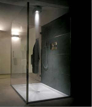 Light Showers by Modern Bathroom Design Clever Lighting Design