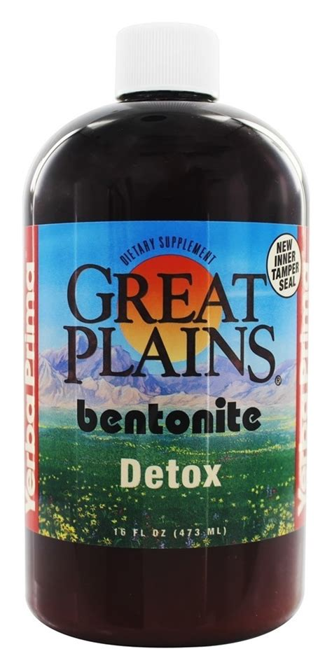 What Is Great Plains Bentonite Detox by 046352005195 Upc Yerba Prima Great Plains Bentonite