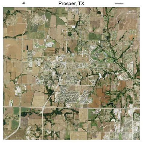 map of prosper texas aerial photography map of prosper tx texas