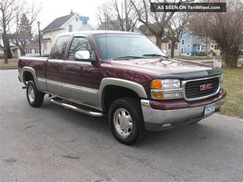 2001 gmc 1500 extended cab 2001 gmc sle 1500 extended cab 4dr