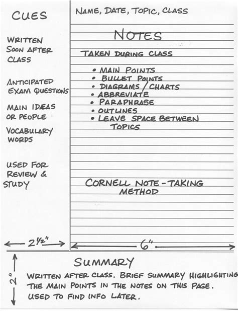 what is the cornell note taking system writer s bloc blog