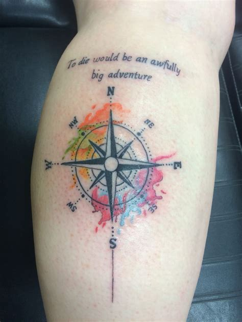 neverland tattoo 17 best images about on compass