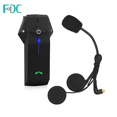 Jual Headset Bluetooth Helmet fdc colo rc 1km motorbike helmet bluetooth intercom