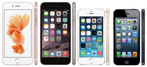 iphone 6s vs iphone 6 iphone 5s iphone 5 should you