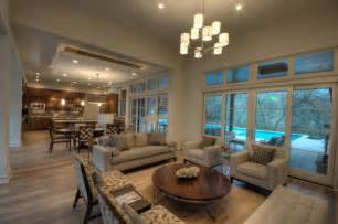 Decorating Ideas For Open Living Room And Kitchen by Open Concept Kitchen Living Room Designs Home Interior Ideas