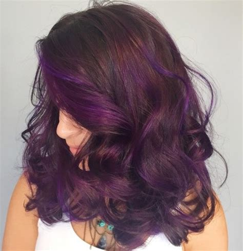 brown hair with violet lowlights best hair color for brown hair brown hairs 40 hair color ideas that are perfectly on point