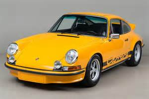 1973 Porsche 911 2 7 Rs Wunderbar 1973 Porsche 911 Rs 2 7