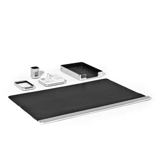 Aluminum Desk Accessories Aluminum Desk Accessories Set Arenson Office Furnishings