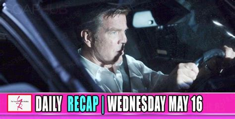yr recap one night the young and the restless recaps the young and the restless yr recap a broken jack self