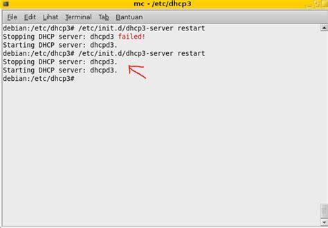 cara konfigurasi dns server dengan linux debian langkah konfigurasi dhcp server di linux debian 5 dengan