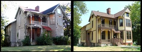 before and after home blues documentarian s historic home restored in nashville