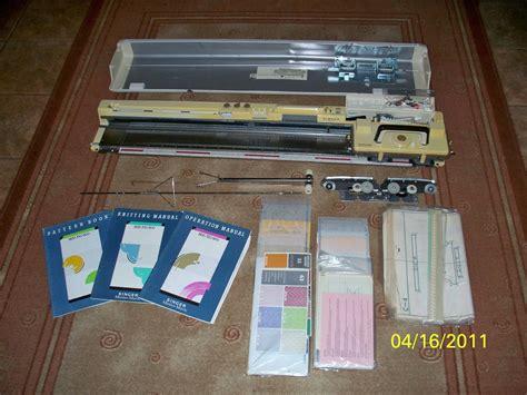 singer 327 knitting machine singer model 150 manual knitting