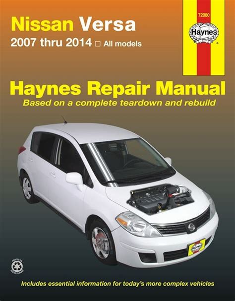 car manuals free online 2012 nissan titan lane departure warning nissan versa repair manual 2007 2014 haynes best price