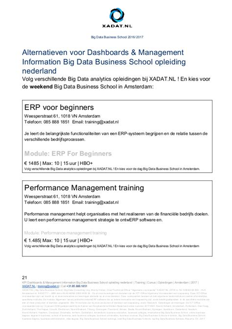 Amsterdam Business School Mba Ranking by Dashboards Management Information Big Data Business School