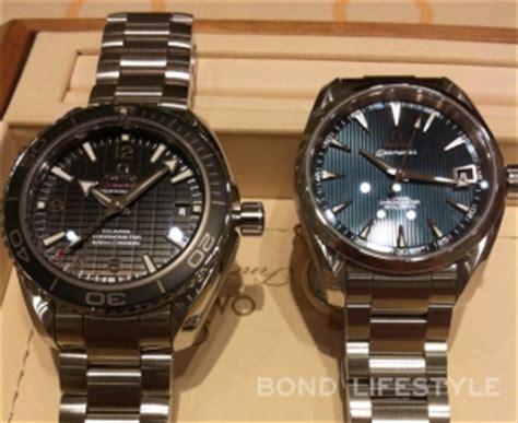 Rolex 007 Semi omega seamaster aqua terra mid size chronometer bond