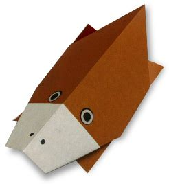 Origami Platypus - origami platypus