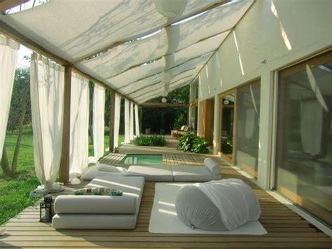 Balkon Vorhang Sonnenschutz by Vorh 228 Nge Sichtschutz Sonnenschutz Terrasse Lounge