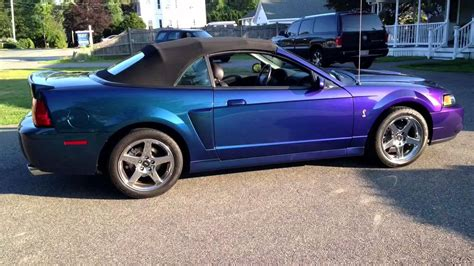 04 mystichrome cobra convertible purple blue green black ford color changing paint a 1