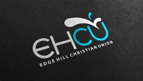 graphic design edge hill edge hill christian union logo design on behance