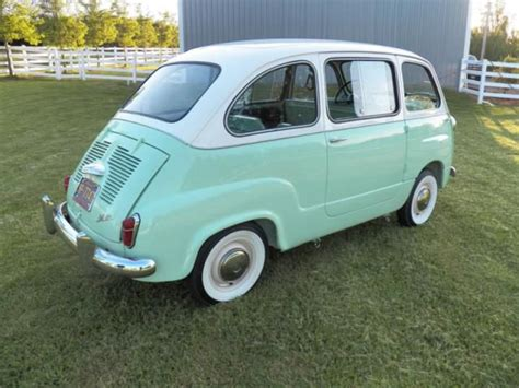 1960 Fiat 600 Multipla For Sale Find Used Fiat 600 Multipla In Scottsdale Arizona United