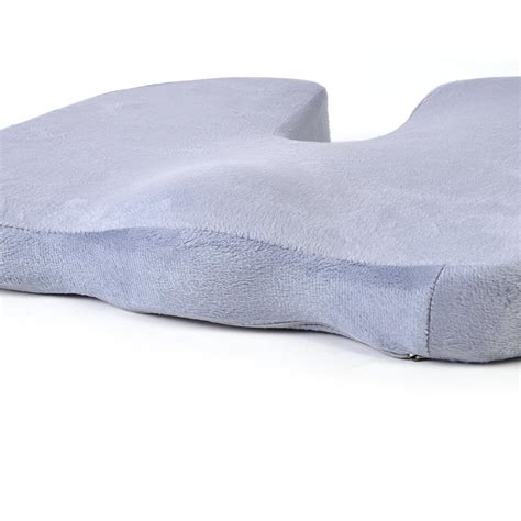 Memory Foam Chair Cushion by Black Memory Foam Coccyx Orthopedic Car Seat Chair Cushion
