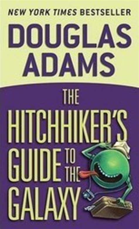 Pdf Hitchhikers Guide Galaxy Douglas by The Hitchhiker S Guide To The Galaxy By Douglas