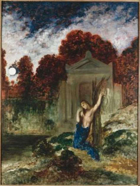 Orph 233 E Sur La Tombe D Eurydice Mus 233 E Gustave Moreau