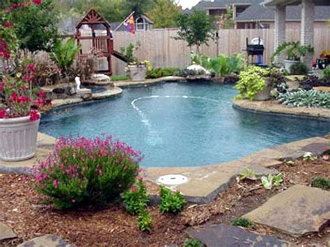 backyard design with pool japanese small rock garden pool patio ideas 2153