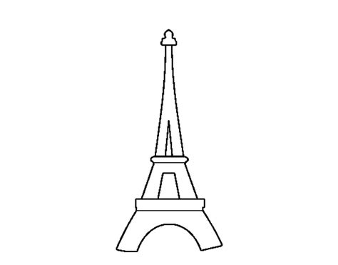 coloring page of eiffel tower coloring pages coloring page eiffel tower color online