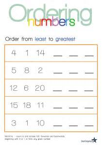ordering fractions and decimals from least to greatest