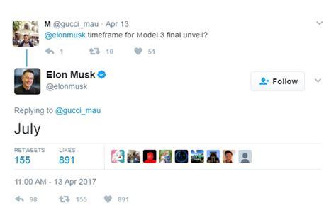 elon musk timeline elon musk reveals timeline for all electric pickup