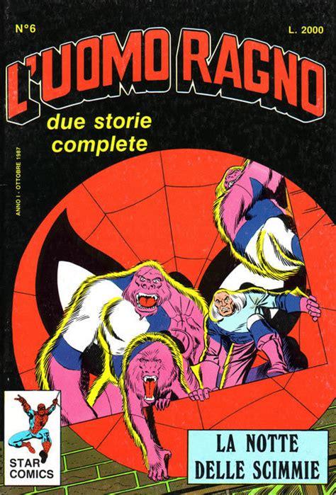 l uomo ragno testo comics uomo ragno 6 uomo ragno 6