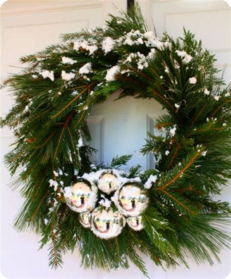 evergreen wreath wreath swag ideas pinterest