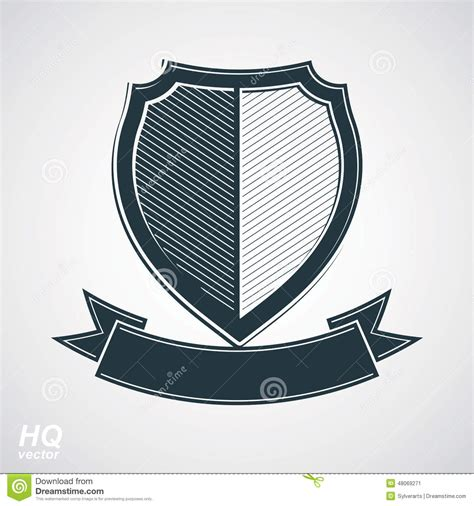 What Design Elements Have The Chinese Soldiers Protection | military award icon vector grayscale defense shield with