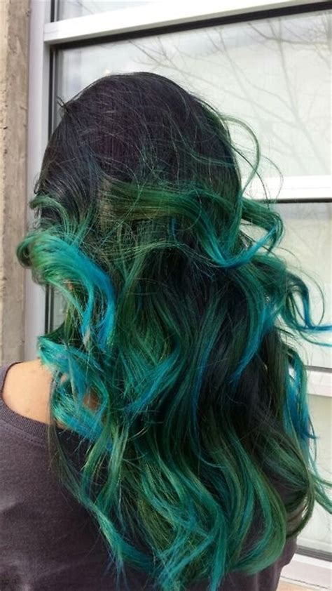 blue green hair color 15 awesome green hairstyles color inspiration strayhair