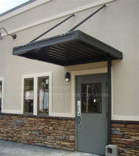 aluminum awnings commercial churches public