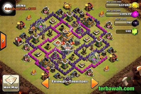 kumpulan wallpaper game coc kumpulan base anti naga th 7 8 game coc clash of clans