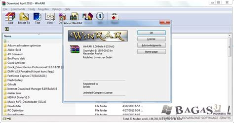 bagas31 zip winrar 5 00 beta 6 full keygen bagas31 com