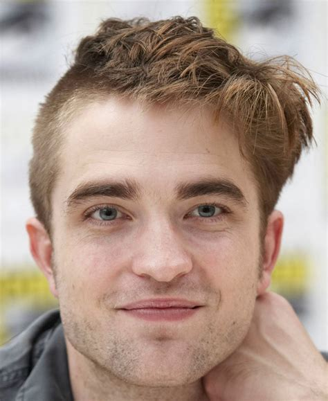What on earth has Robert Pattinson done to his hair