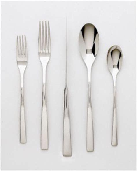 modern silverware ginkgo president stainless flatware modern flatware