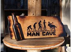 10 Amazing Man Cave Signs That Look Amazing - Dads Bible Manly Gifts For Him
