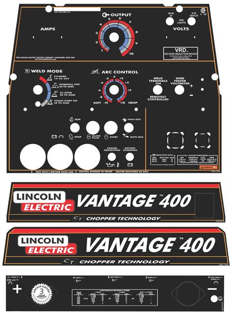 Lincoln Electric Stickers