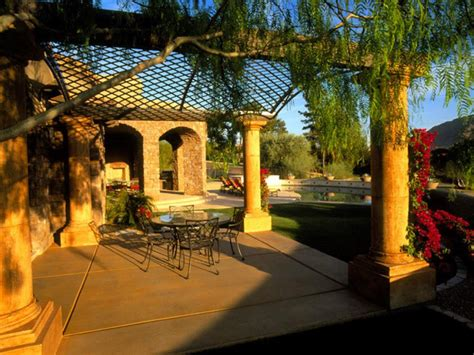 tuscan inspired backyards 10 mediterranean inspired outdoor spaces hgtv