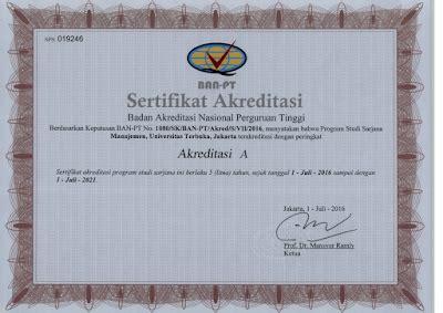 Minta Surat Keterangan Akreditasi Perguruan Tinggi by Akreditasi Ban Pt Universitas Terbuka Pokjar Ut Batam