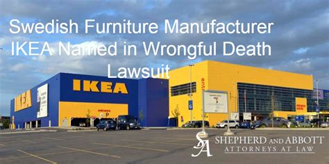 ikea lawsuit news shepherd abbott