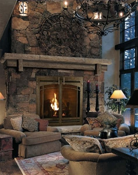 rock fireplace stone fireplace with mantle and hearth it s ok but i